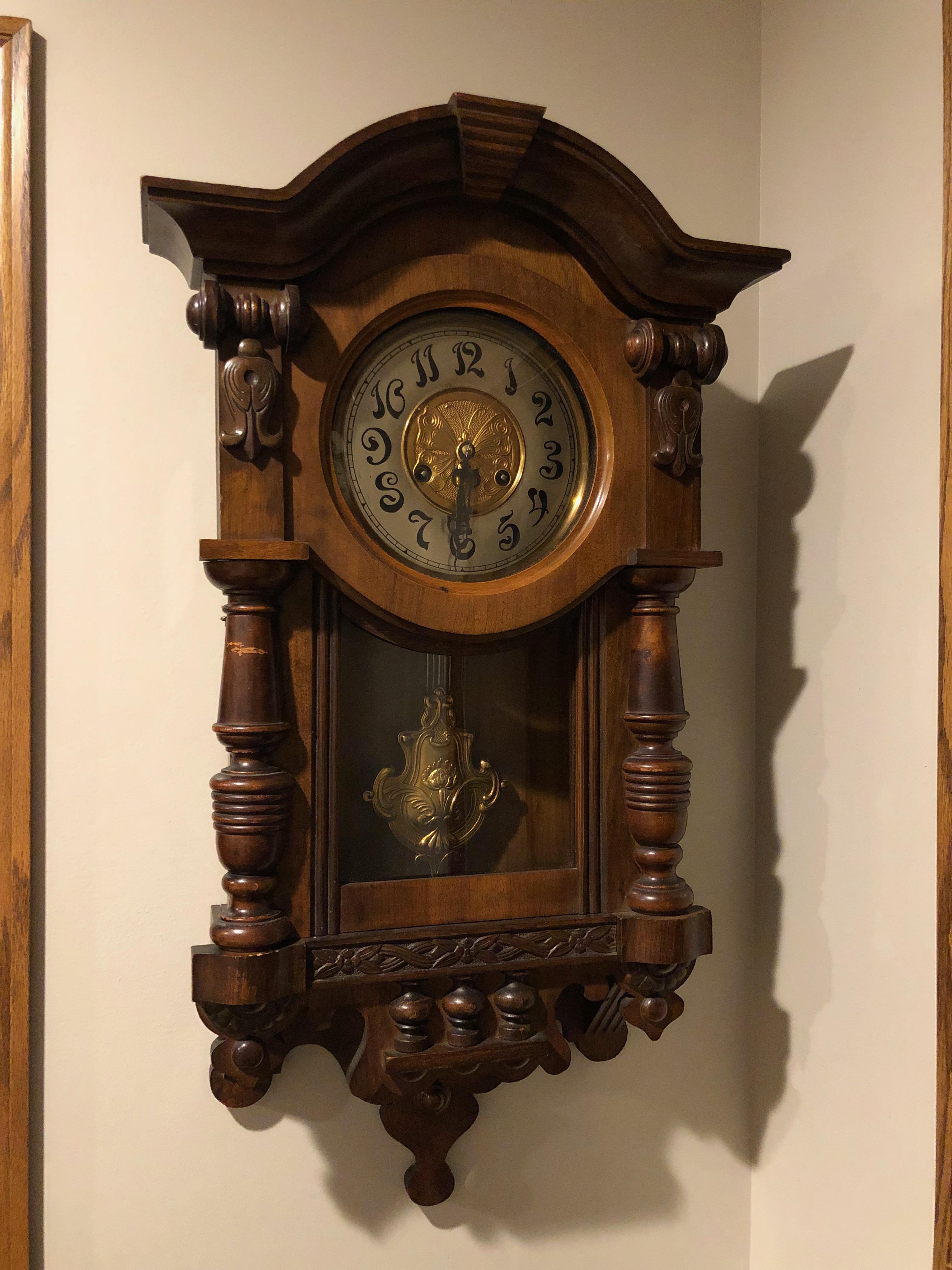 Mauthe Wall Clock Image