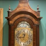 Herschede Clock Plate Refinishing